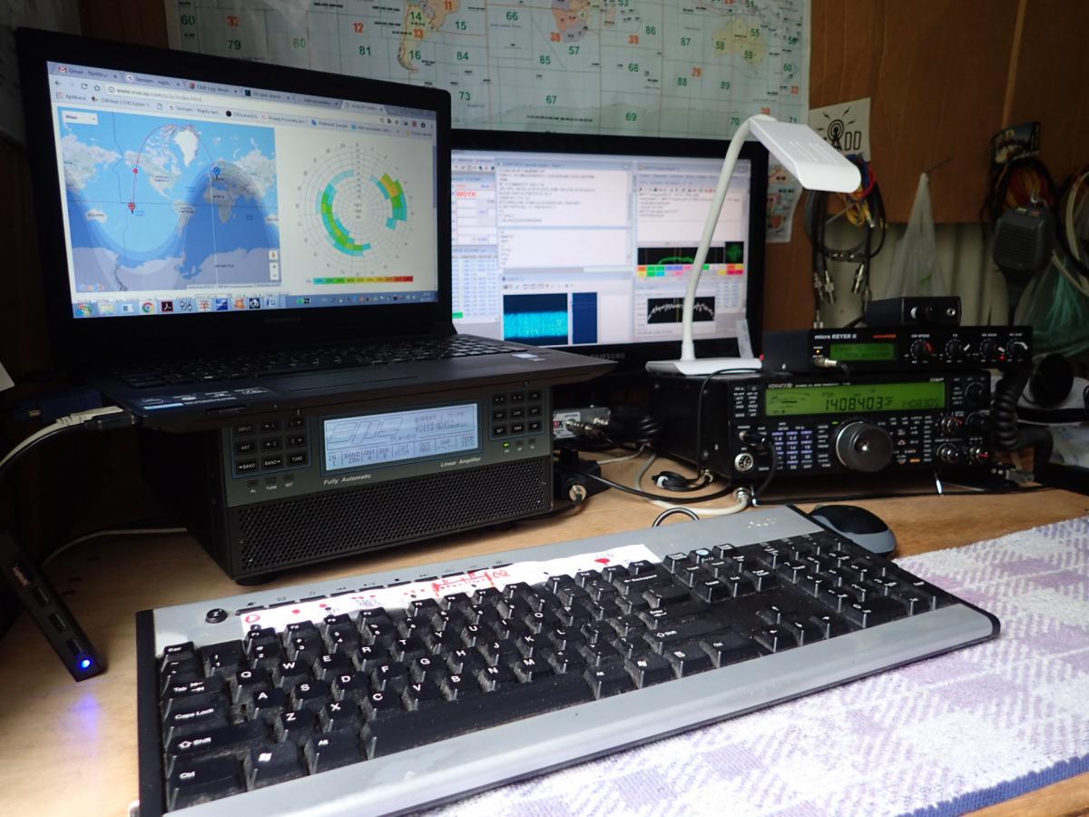 E51DWC RTTY Pileup
