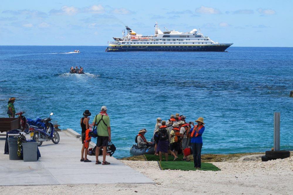 E51GC Атолл Манихики, острова Кука. Туристические достопримечательности