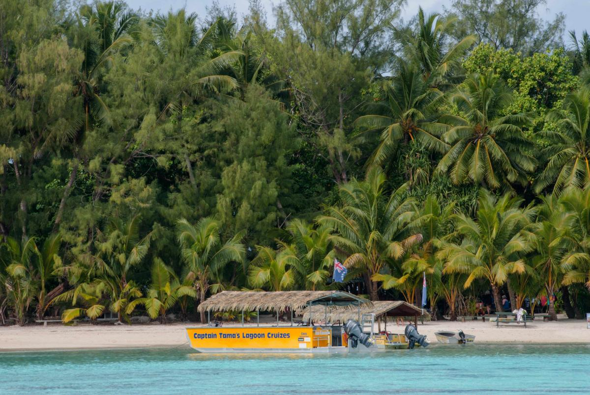 Rarotonga Island E51JHQ Tourist attractions spot