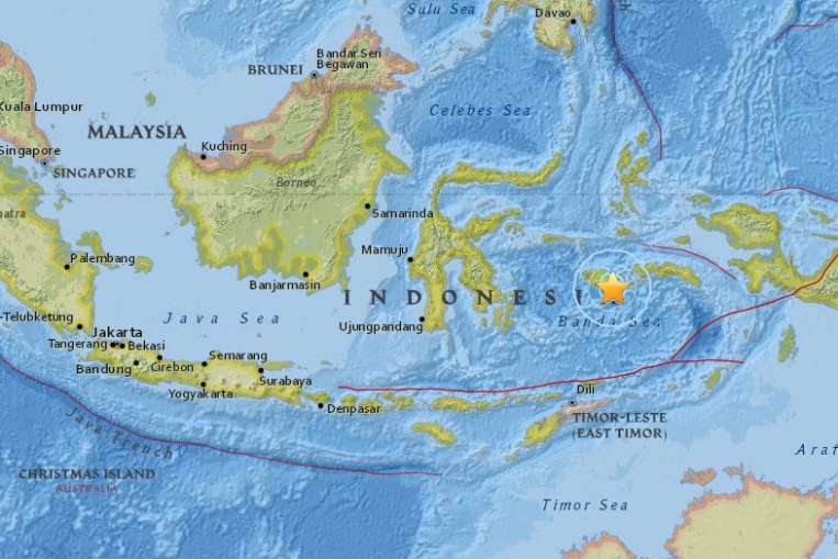 Earthquake Indonesia Amateur Radio Emergency Network