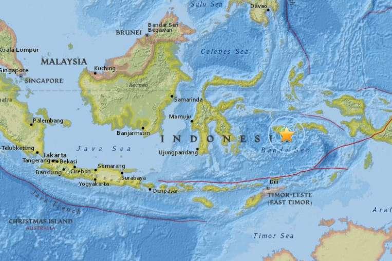 Землетрясение Индонезия Радиолюбители Аварийная связь.