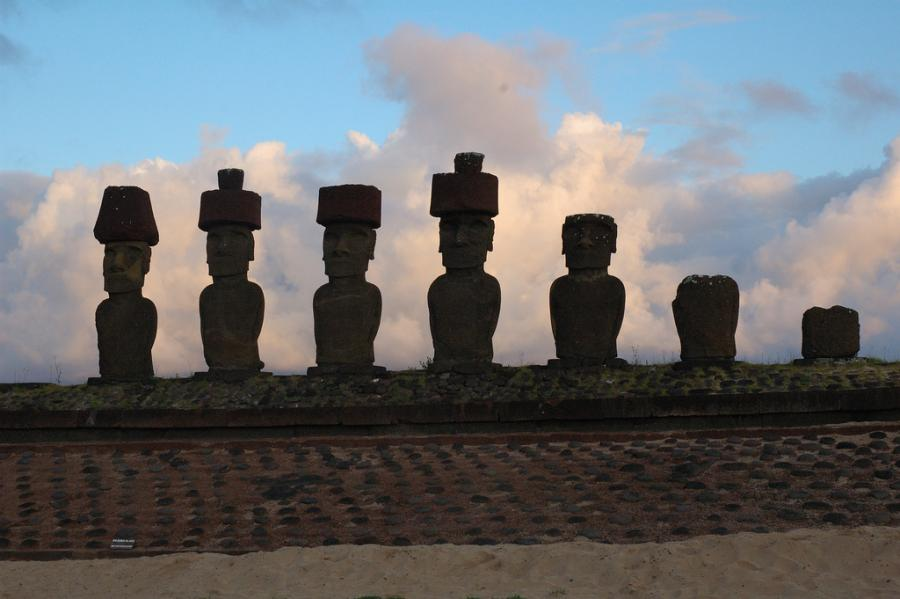Easter Island CE0Y/DF8AN Tourist attractions spot