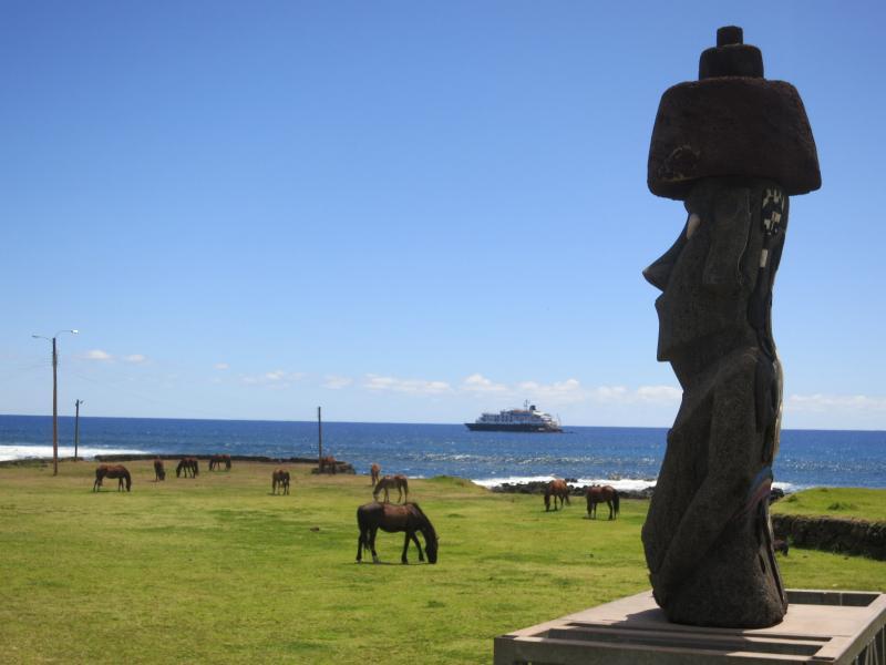 Остров Пасхи CE0Y/XQ7UP Туристические достопримечательности