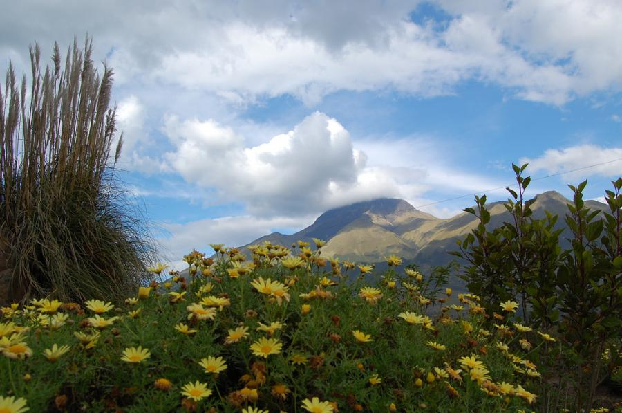 Ecuador HC1HB Tourist attractions spot Otavalo