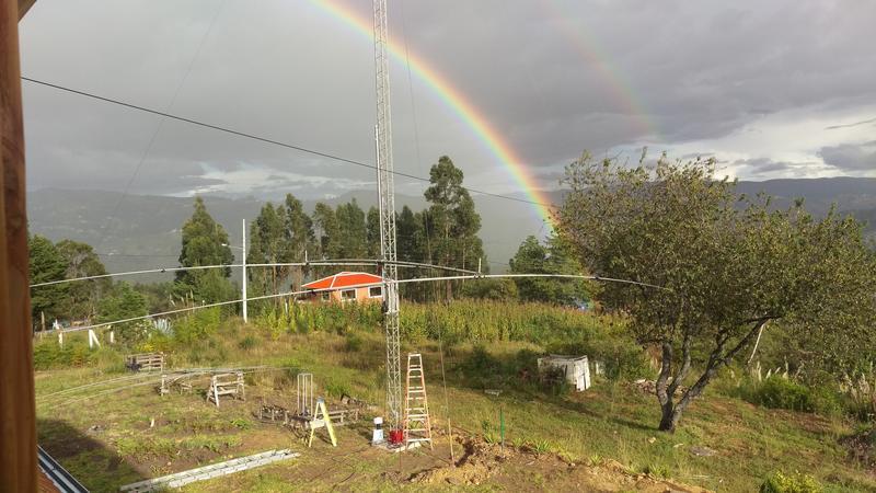 Ecuador HC5DX Antennas