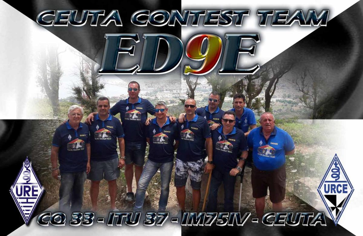 ED9E Сеута Ceuta Contest Club