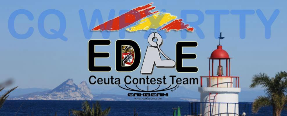 ED9E Сеута CQ WW DX RTTY Contest Логотип
