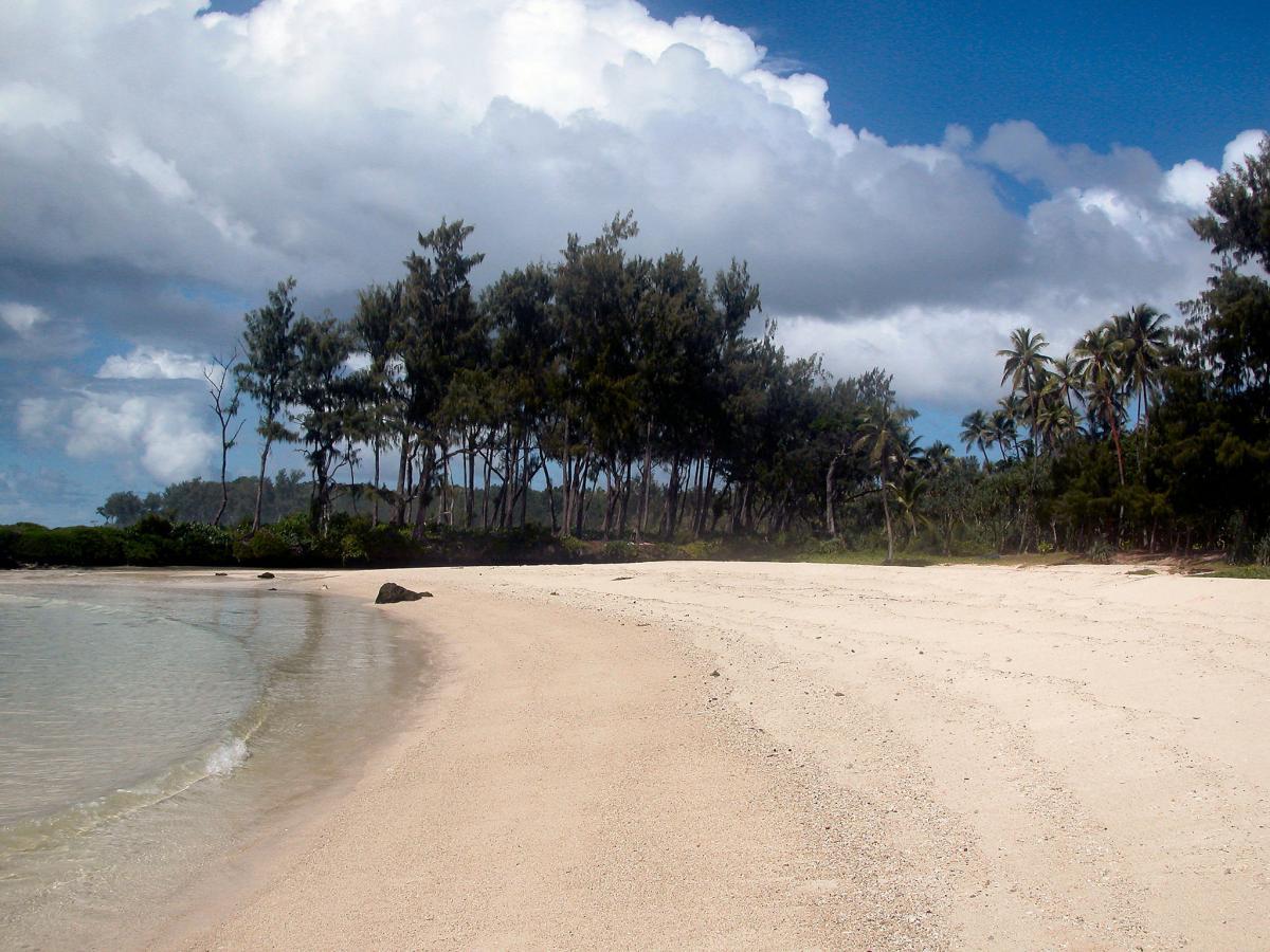 Остров Эфате YJ0AT Туристические достопримечательности Пляж Вануату