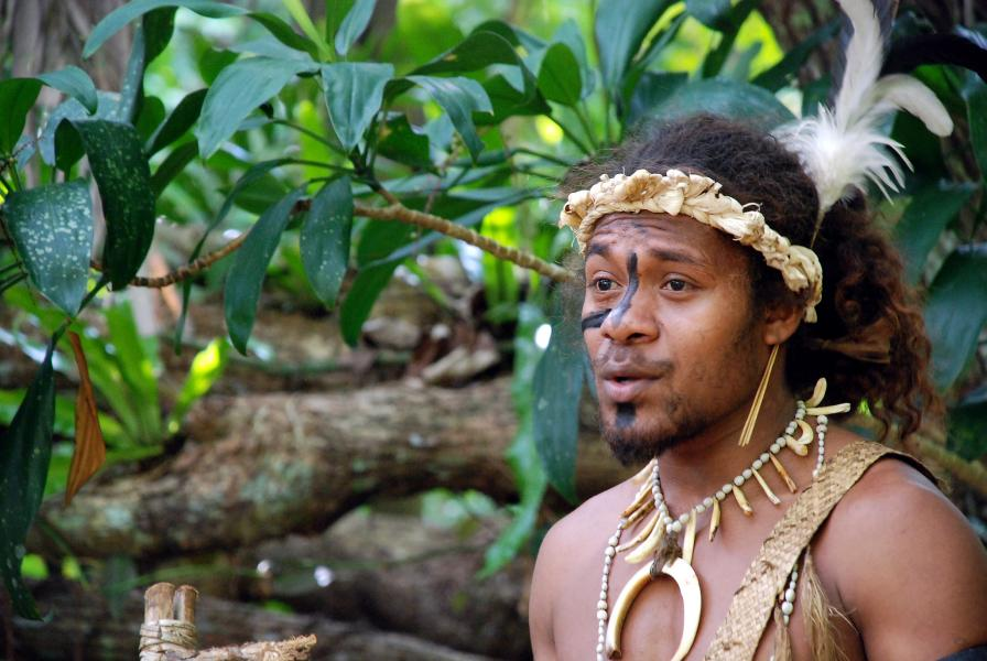 Efate Island Vanuatu YJ0WW Ekasup Village.