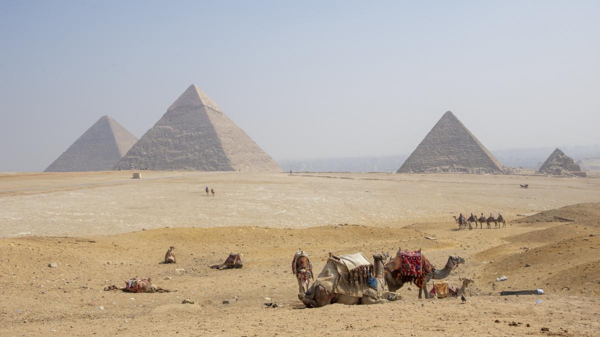 Первый день в Египте