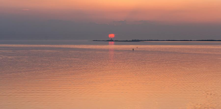 Fehmarn Island DL/OO6P DL/ON4IPA Tourist attractions spot Sunset