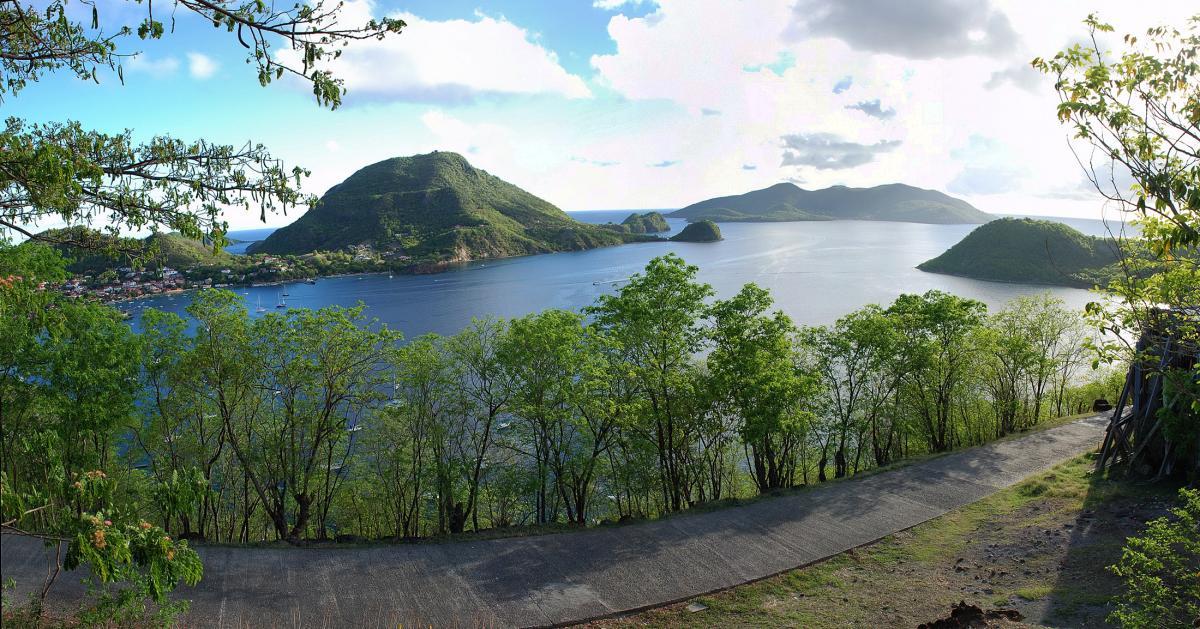 FG/F6BCW Iles des Saintes, Guadeloupe Tourist attractions spot