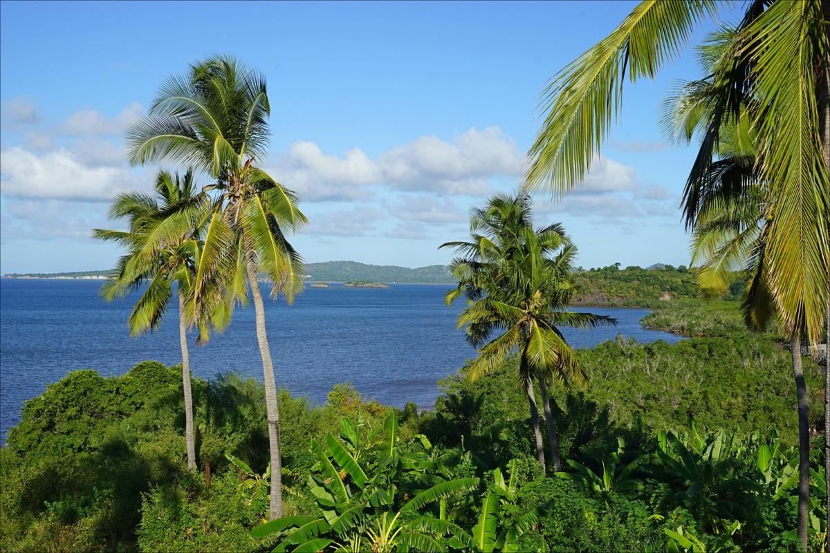 FH/DJ7RJ Petite-Terre, Mayotte Island. Tourist attractions spot