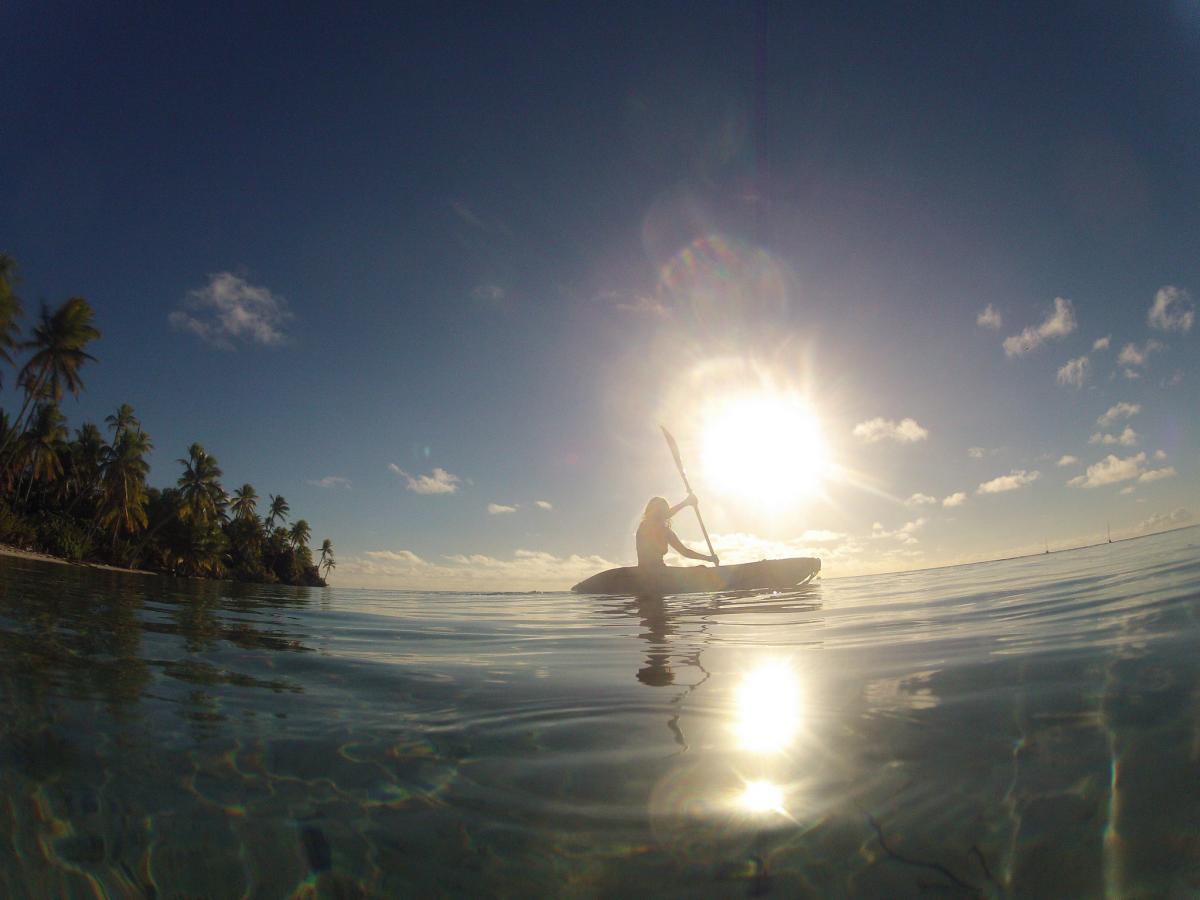FO/JI1JKW Fakarava Atoll Tuamotu Archipelago, French Polynesia. Tourist attractions spot