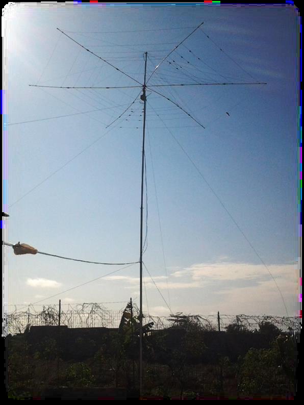 Folding Antenna 3C0L Annobon Island