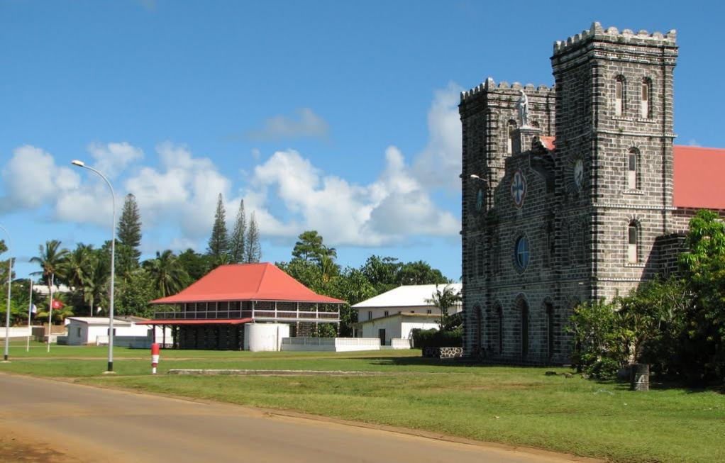 FW1JG Wallis and Futuna Tourist attractions spot