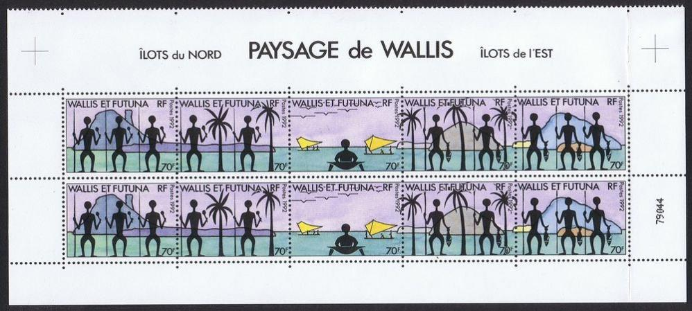 FW/G0VJG Stamps, Wallis and Futuna Islands DX News