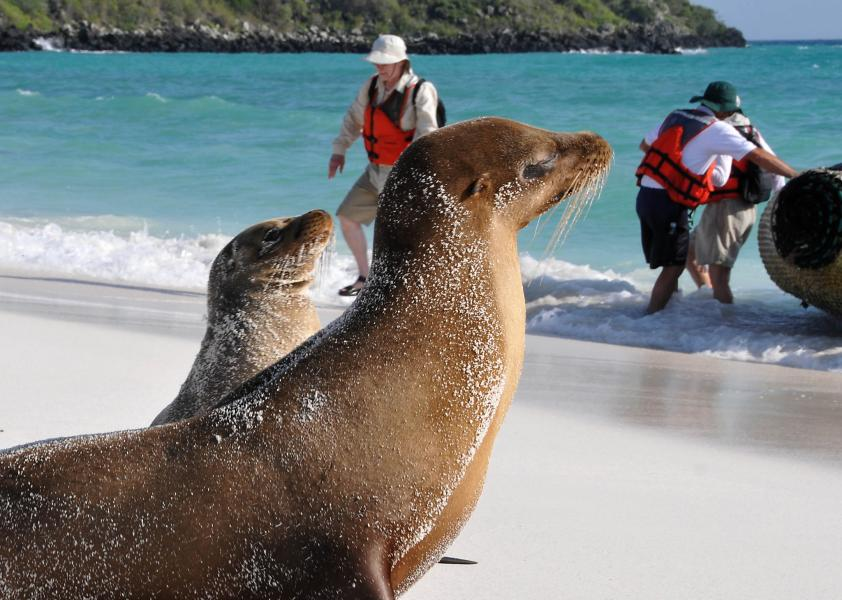 Galapagos Islands HC8/LW9EOC Tourist attractions spot