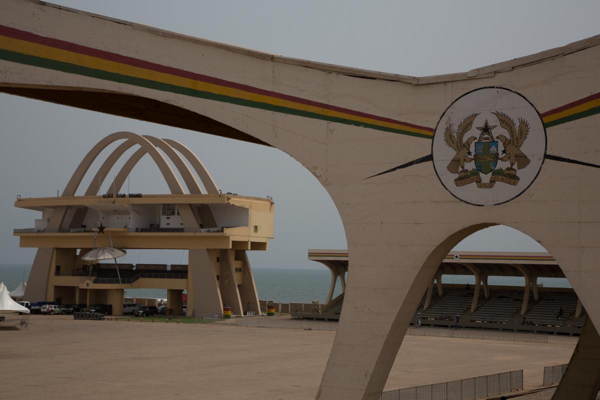 Мемориал, площадь Свободы, Аккра, Гана