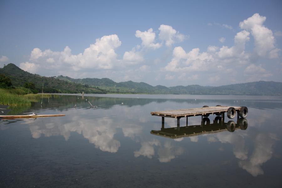 Ghana 9G1SD Lake Bosomtwe, Kuntanasi, Ashanti.