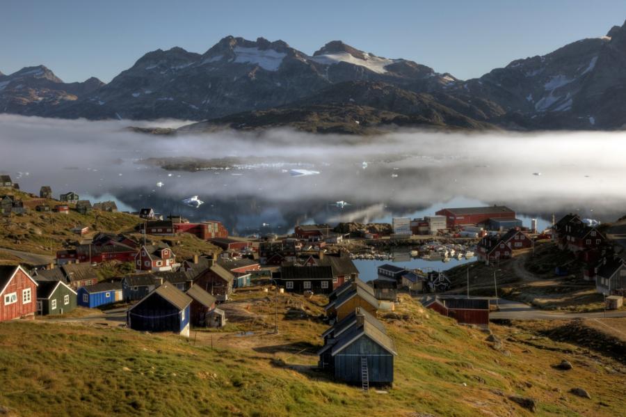 Гренландия OX90EDR Туристические достопримечательности.