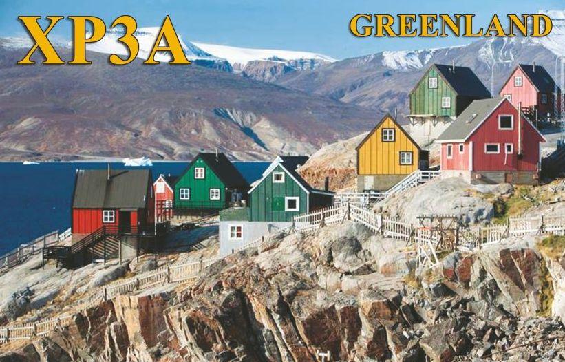 Greenland XP3A QSL Nuuk