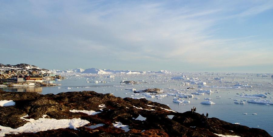Greenland XP5T DX News Disko Bay.