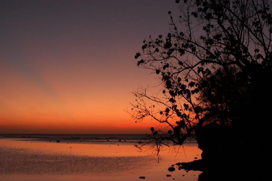 Остров Гуам AH2P Закат