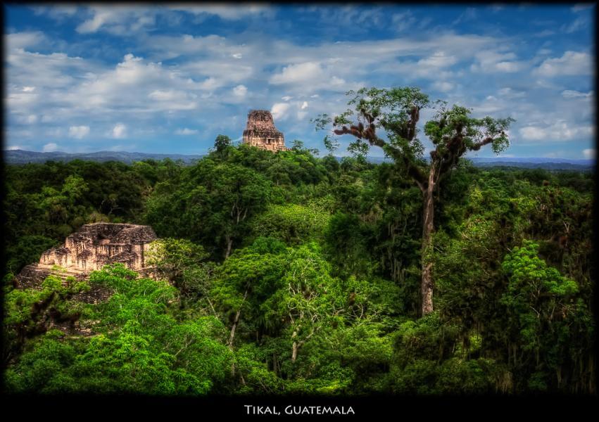 Guatemala TG9/DJ2EH Tikal