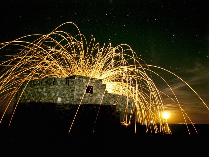 Остров Гернси GU4CHY Туристические достопримечательности Форт Дойле
