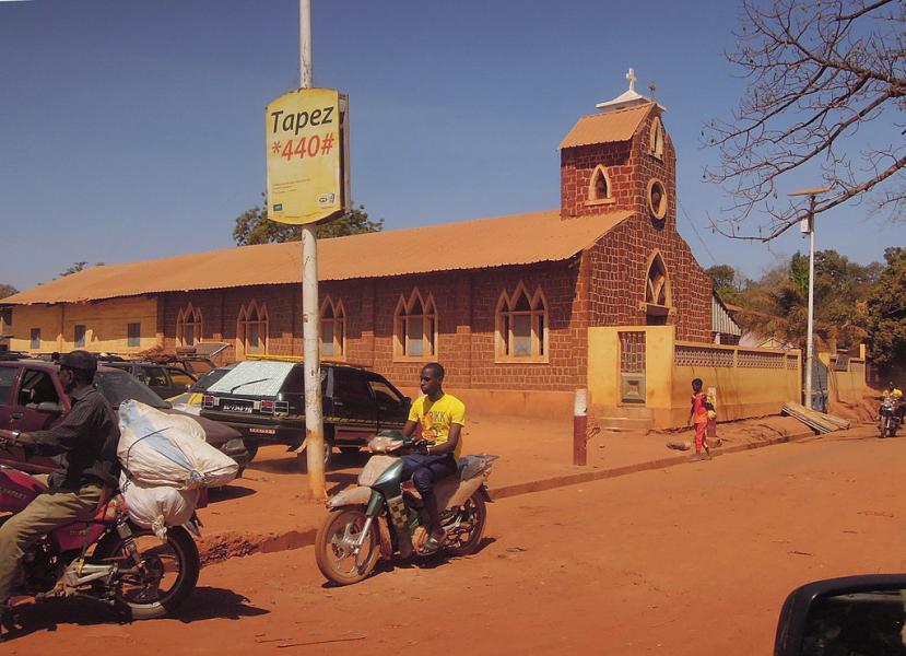 Guinea 3XY4D Tourist attractions spot Siguiri, Kankan.