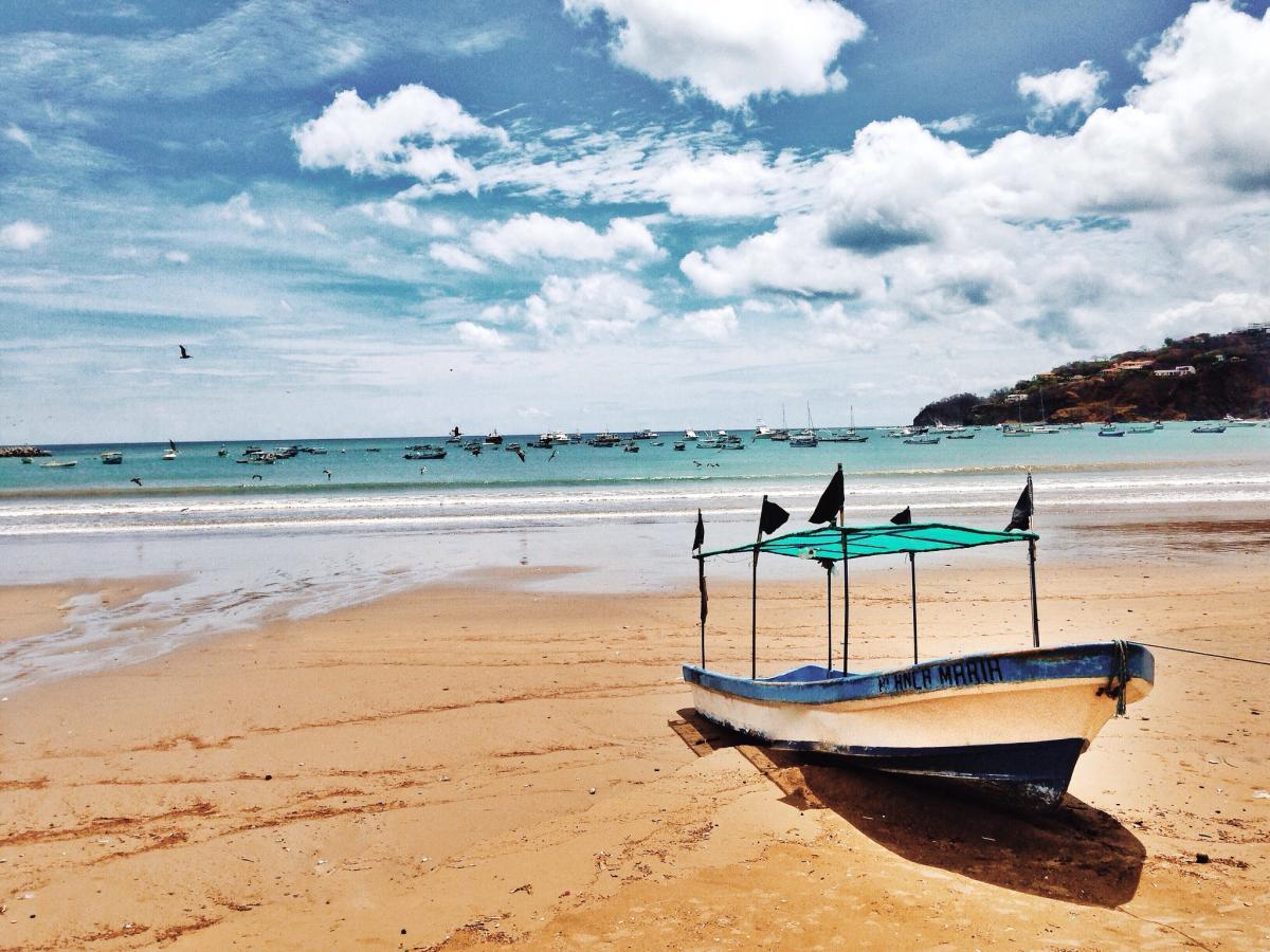 H7/SP7VC San Juan del Sur, Rivas, Nicaragua. Tourist attractions spot