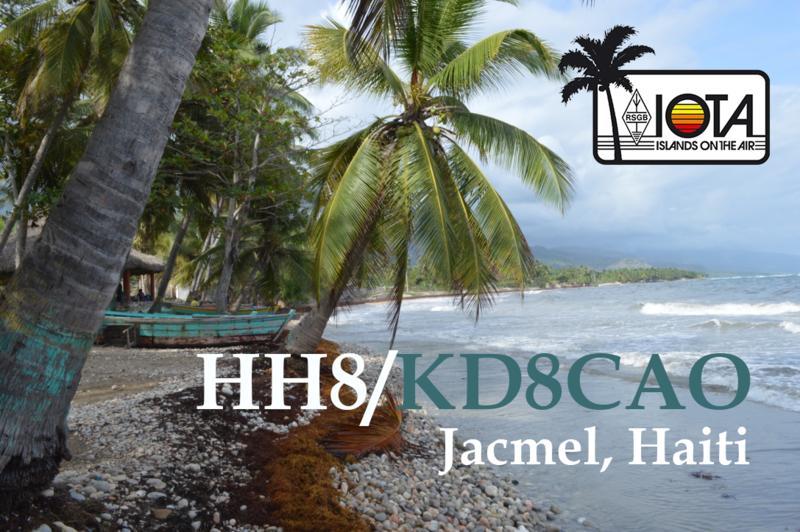 Гаити HH8/KD8CAO Джакмел