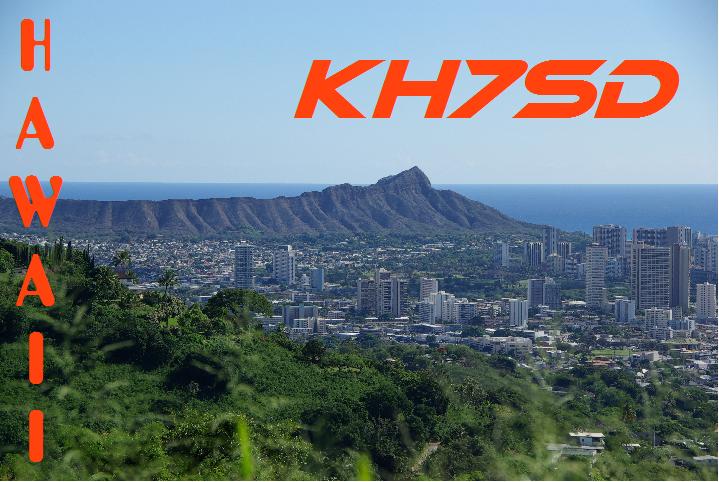 Hawaiian Islands KH7SD QSL