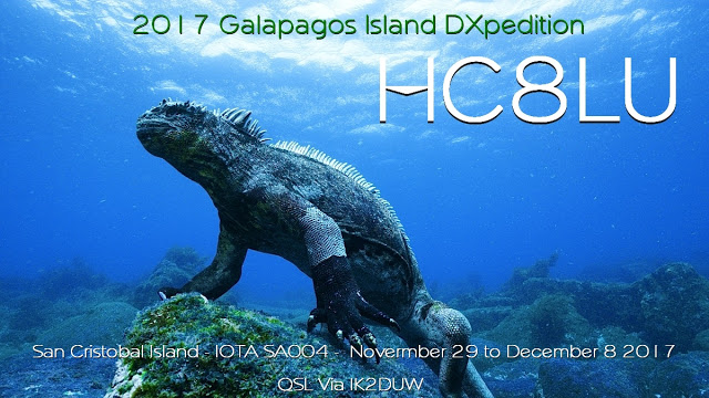 San Cristobal Island HC8LUT Galapagos Islands DX Pedition 2017