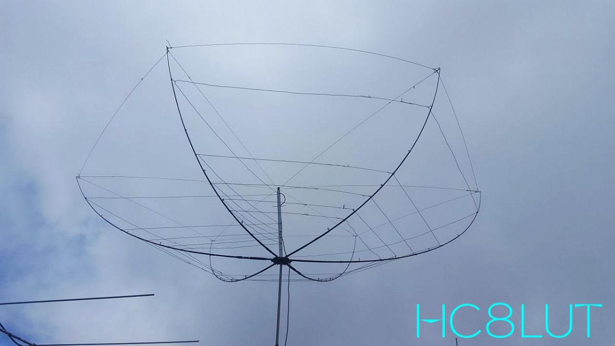 HC8LUT San Cristobal Island Galapagos Islands Hex Beam Antenna