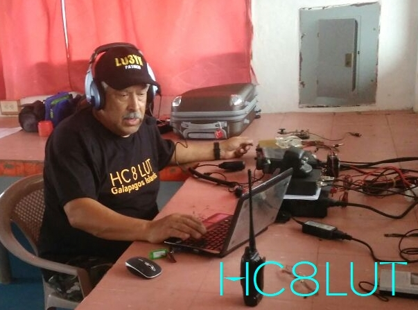 HC8LUT Galapagos Islands LU3YK