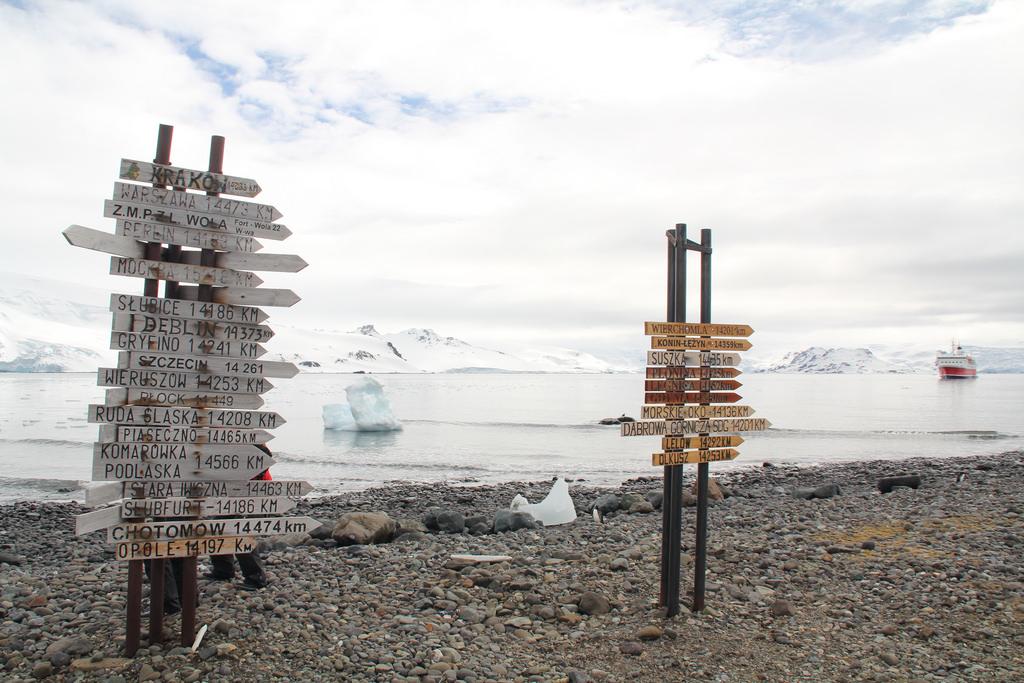 HF0ARC Польская научно - исследовательская станция Генрих Арцковский Остров Кинг Джордж Южно Шетландские острова Антарктида