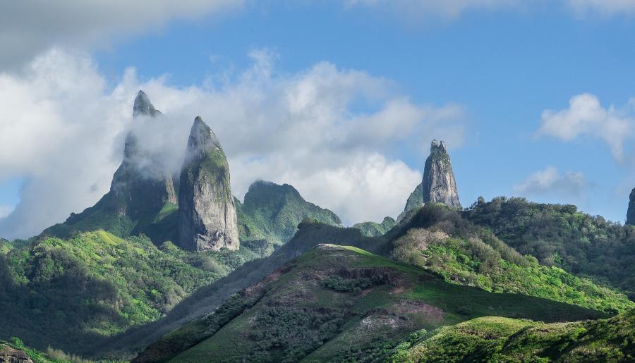 Остров Хива Оа TX5EG Маркизские острова