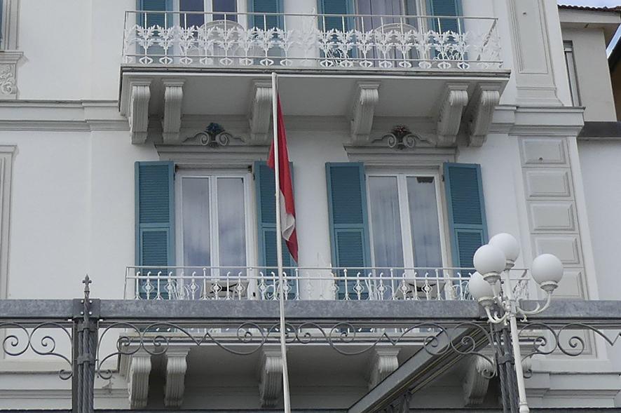 Hotel Miramare Santa Martherita Marconi IY1MR