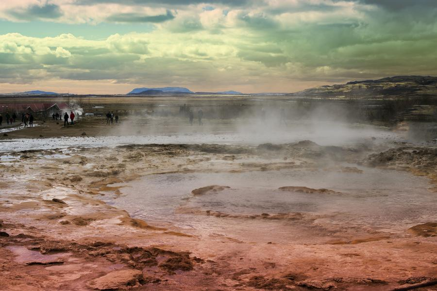 Iceland TF/DL1NX Tourist attractions spot Borgarnes, Myrasysla.