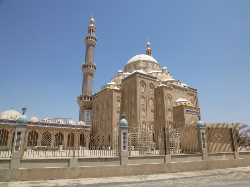 Iraq IT9ADT/YI9 Tourist attractions spot Mosque, Erbil.