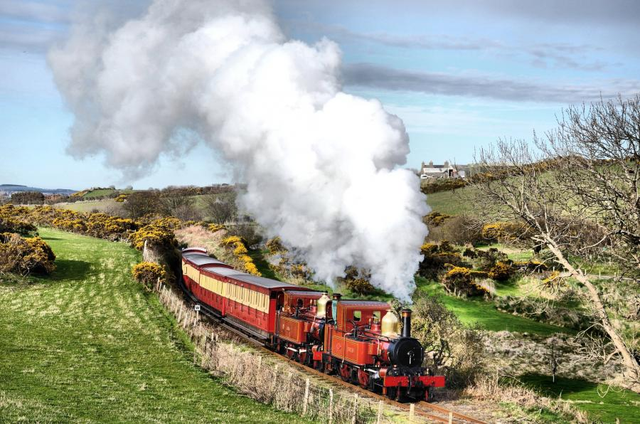 Isle of Man MD1E Steam Railway.