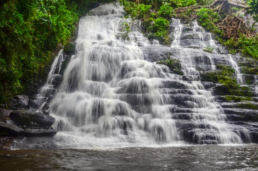 Ivory Coast TU5AX Tourist attractions spot Waterfall