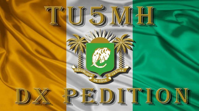 Côte d'Ivoire Ivory Coast TU5MH Logo
