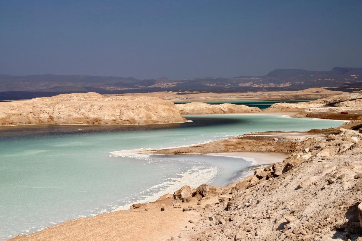 J20DX Озеро Ассал, Джибути Туристические достопримечательности