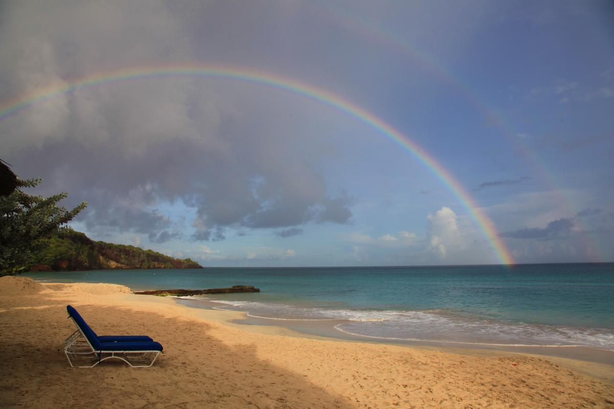 J3/G0VJG Grand Anse Beach, Grenada Island.