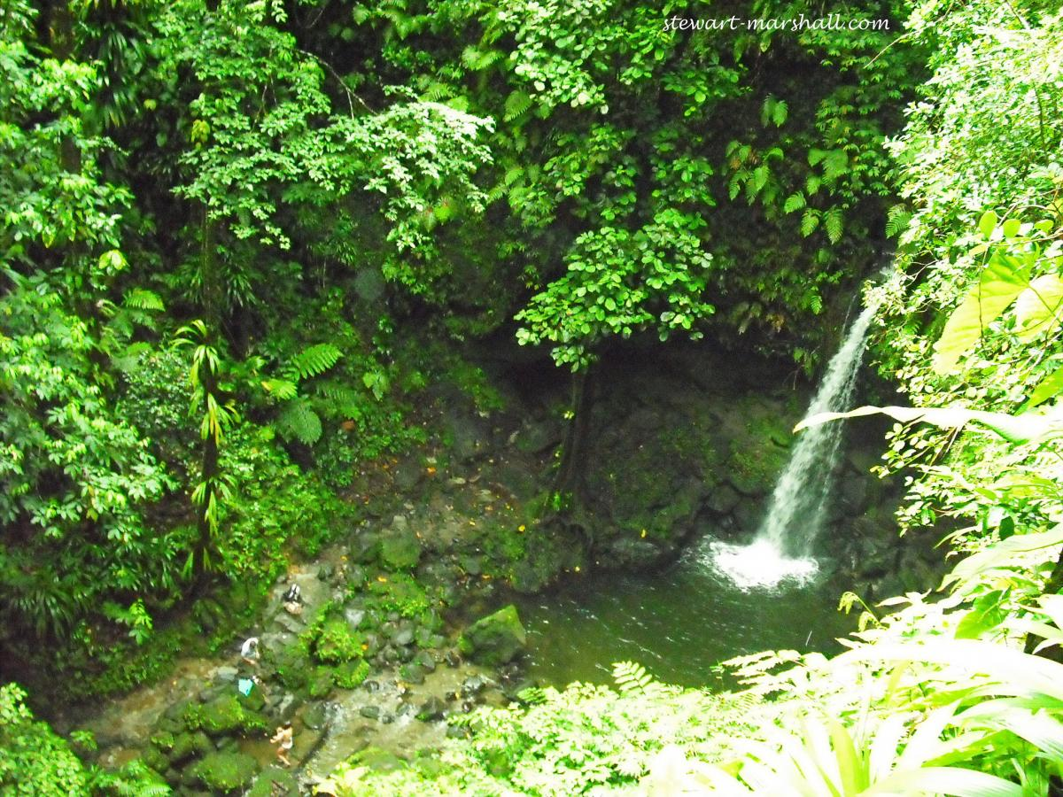 J70VR Emerald Pool, Dominica Island. DX News