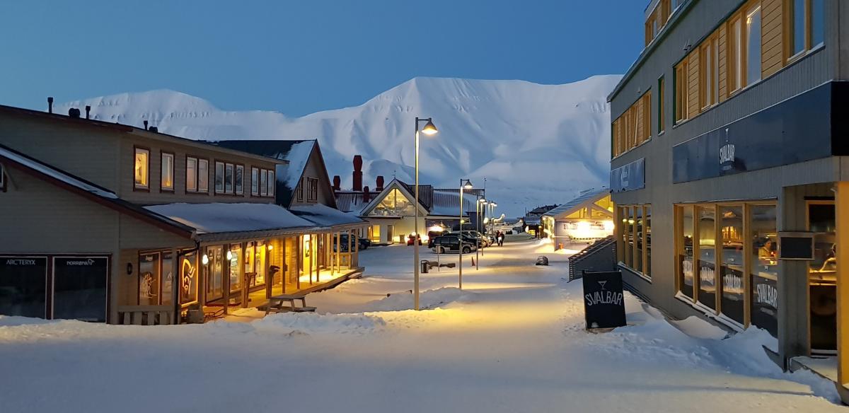 JW/EA3NT JW/OJ0Y Svalbard Tourist attractions spot