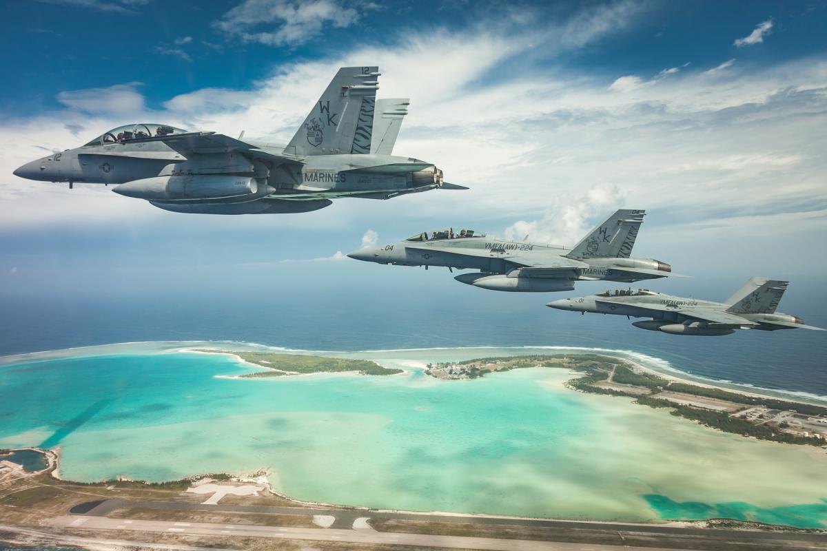 K7ASU/KH9  Bengals over Wake Island